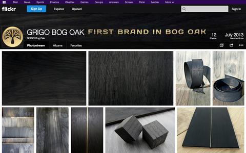 Screenshot of Flickr Page flickr.com - Flickr: GRIGO Bog Oak's Photostream - captured Oct. 22, 2014
