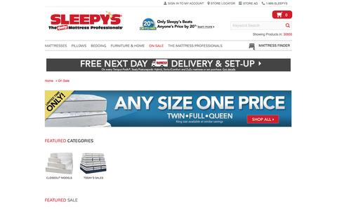 Limited Time Only Sale - Sleepy's