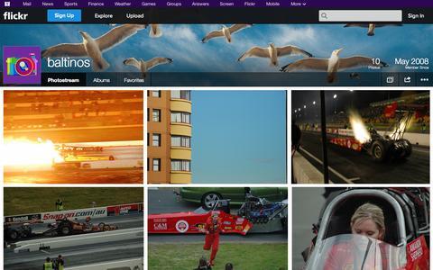 Screenshot of Flickr Page flickr.com - Flickr: baltinos' Photostream - captured Oct. 23, 2014