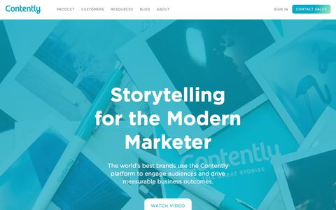 Accountable Content Starts Here - Contently