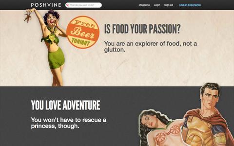 Screenshot of Jobs Page poshvine.com - Work with us | Poshvine - captured Oct. 31, 2014