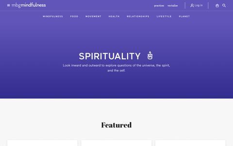 spirituality - mindbodygreen