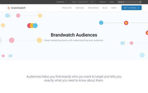 Audiences | Brandwatch