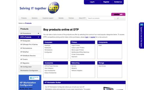 Low traffic B2B Services Products Pages | Website