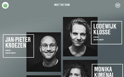 Screenshot of Team Page freshapple.nl - Team | Fresh Apple - Digital Athletes - captured Dec. 19, 2018