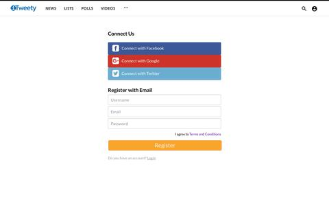Screenshot of Signup Page itweety.com - iTweety - Online Publishing - captured Sept. 20, 2018