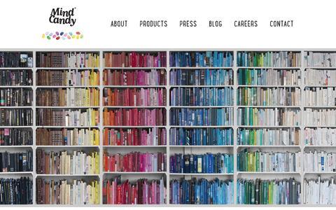 Screenshot of Terms Page mindcandy.com - Mind Candy - captured Sept. 12, 2014