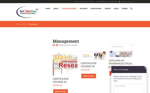Screenshot of Team Page inclinition.com - Management – InClinition - captured June 7, 2017