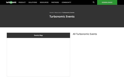Turbonomic Events - When and Where You Can Meet Our Team