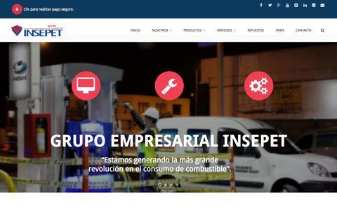 Screenshot of Press Page insepet.com - News | Grupo Empresarial Insepet - captured Nov. 2, 2014