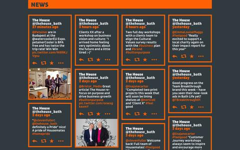 Screenshot of Press Page thehouse.co.uk - The House - captured Oct. 9, 2014