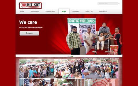 Screenshot of Press Page kitkatgroup.com - Kit Kat Group - captured July 16, 2017