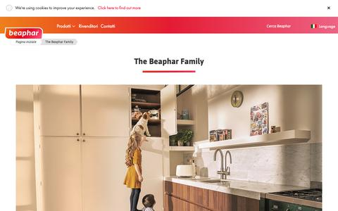 Screenshot of About Page beaphar.com - The Beaphar Family - captured Oct. 24, 2018