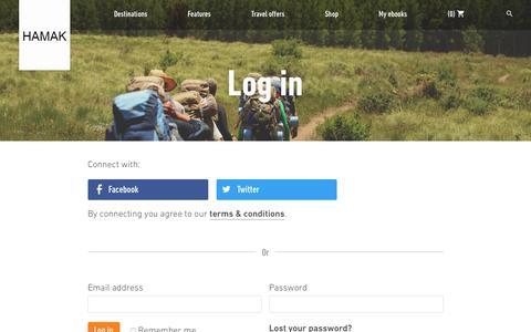 Screenshot of Login Page hamak.info - Rough Guides Community | Log In | Rough Guides - hamak.info - captured July 11, 2017