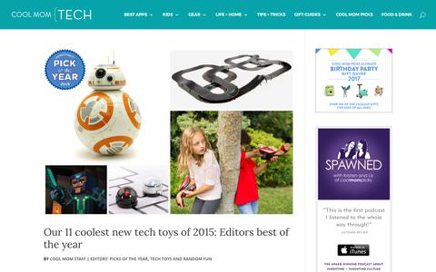 Editors' Picks of the Year Archives | Cool Mom Tech