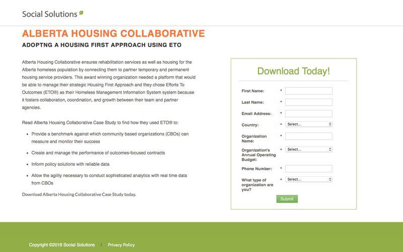 Alberta Housing Collaborative Case Study