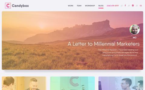 Blog - Candybox Marketing
