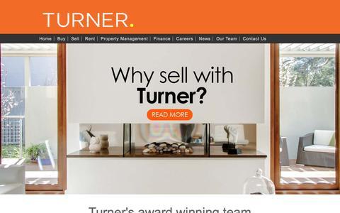 Screenshot of Team Page turnerrealestate.com.au - Property Management Team | Turner Real Estate | Adelaide - captured Sept. 28, 2016