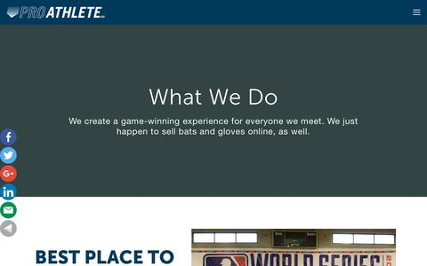 Screenshot of Home Page proathleteinc.com - Pro Athlete, Inc | A Best Place To Work In Kansas City - captured July 22, 2018