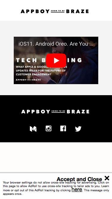 Appboy (soon to be Braze) GAFA Briefing Video
