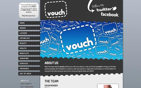 Screenshot of About Page vouchoffers.co.uk - VOUCH OFFERS : ABOUT US - captured March 15, 2016