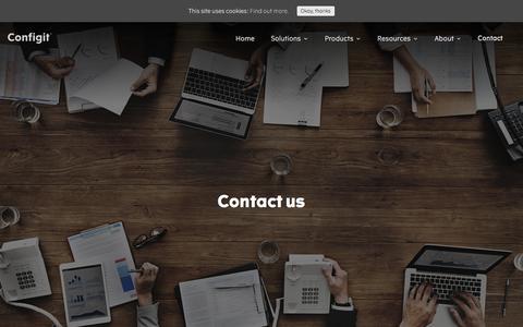 Contact – Configit