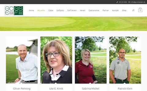 Screenshot of Team Page gc-erlangen.de - Team   Golf Club Erlangen - captured May 11, 2017