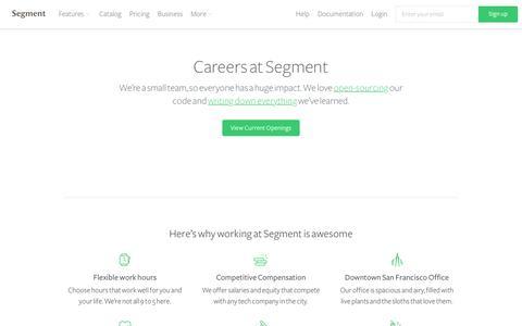 Careers at Segment