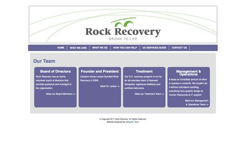 Screenshot of Team Page rockrecoveryed.org - Our Team | Rock Recovery - captured Oct. 7, 2014