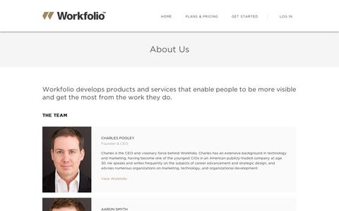 About Us | Workfolio