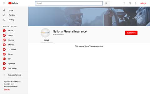 National General Insurance - YouTube - YouTube