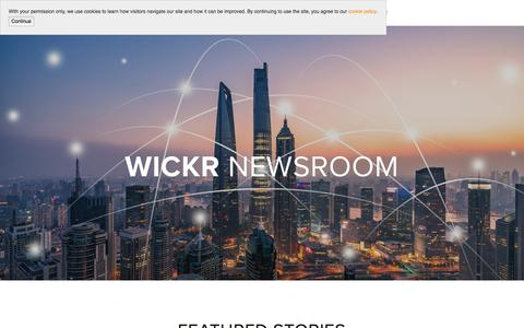 Newsroom — Wickr