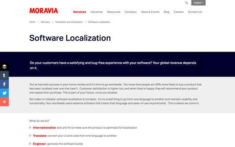 Software Localization - Moravia