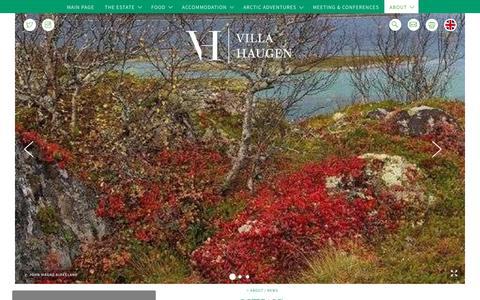 Screenshot of Press Page villahaugen.com - News - captured Oct. 19, 2018
