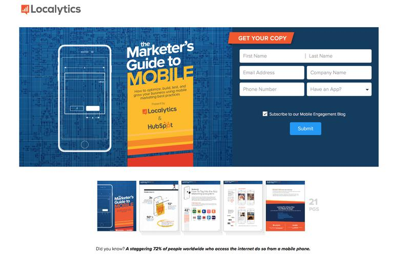 HubSpot and Localytics present everything marketers need to know about how to succeed in an increasingly mobile-first world.
