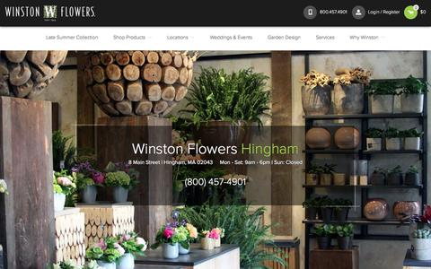 Hingham Florist: Same Day Flower Delivery | Winston Flowers | Winston Flowers
