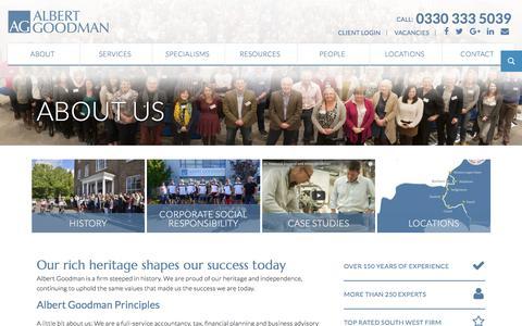 About us | Chartered Accountants | Albert Goodman