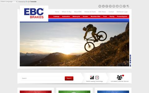 EBC Brakes - Brakes for Cars, Motorcycles, Trucks and SUV