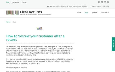 Blog – Clear Returns