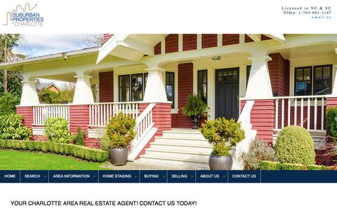 Screenshot of Contact Page jennifermanchester.com - Jennifer Manchester, Broker-Realtor® - Charlotte NC Real Estate & Relocation Services - Charlotte Homes & Condos for Sale - Ballantyne, South Park, NoDa, Matthews, mint hill - captured Aug. 19, 2019