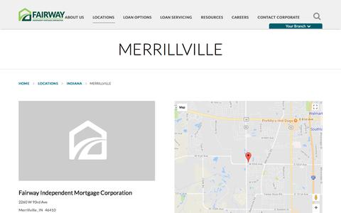 Merrillville | Fairway Independent Mortgage Corporation