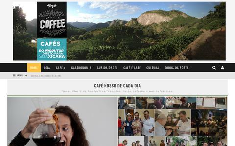 Screenshot of Blog haveacoffee.com.br - Blog Have a Coffee – Apaixonados por café - captured July 23, 2017