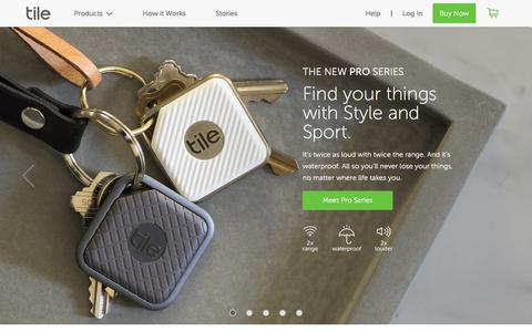 Find Your Keys, Wallet & Phone with Tile's App and Bluetooth Tracker Device | Tile