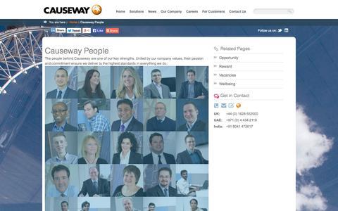 Screenshot of Team Page causeway.com - Causeway People | Causeway - captured Oct. 30, 2014
