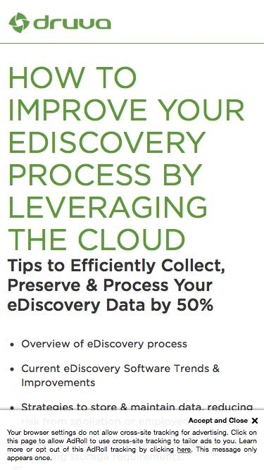 White Paper: Accelerating Your eDiscovery Process While Reducing Costs and Risks