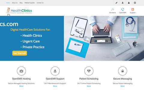 Home - Digital Healthcare Solutions | HealthClinics.com