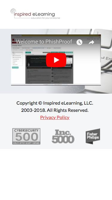 Inspired eLearning | PhishProof