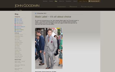 Screenshot of Blog johngoodwin-online.com - Blog - captured Oct. 6, 2014