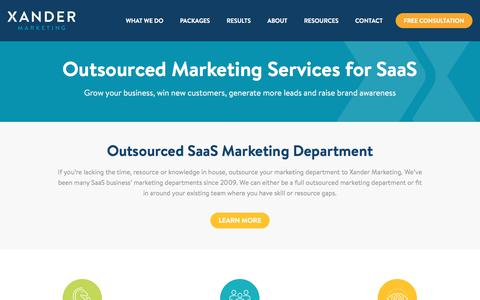 Marketing Consultants for Software as a Service (SaaS) Businesses | Xander Marketing