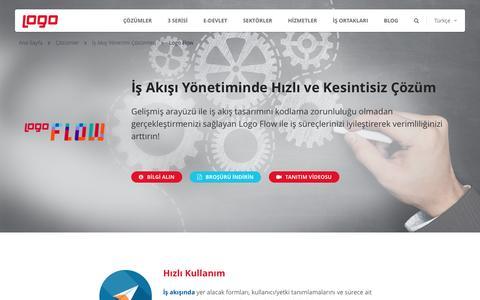 Logo Flow | İş Akış Yönetimi Çözümler | Logo Yazılım